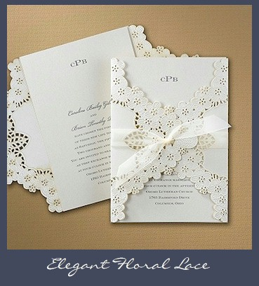 Wedding invitations with lace wedding decor ideas lace wedding invitations filmwisefo
